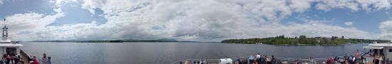 Cruise of Lake Memphremagog in Summer School of Management of creativity