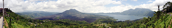 View on the Batur Mount