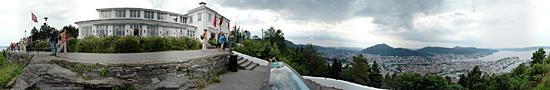 Au Mont Floyen, au dessus de Bergen