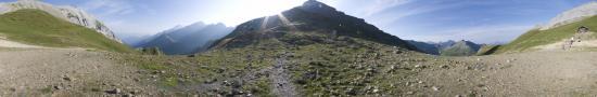 Au col du Bonhomme � 2330 m