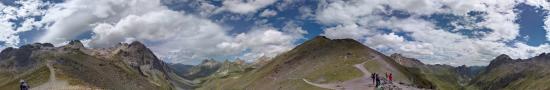 Au col de la Ponsonni�re dans le massif des Cerces, 2613 m