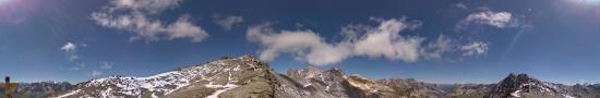 Le col des Muandes, 2828 m