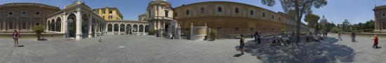 Courtyard in Vatican