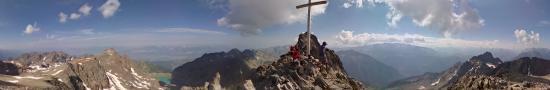 A la croix de Belledonne, 2926 m