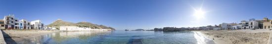 La plage de Favignana sur Isola di Favignana