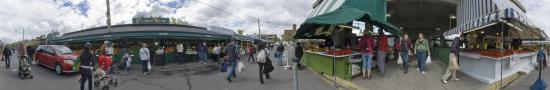 Enter of Jean Talon Market