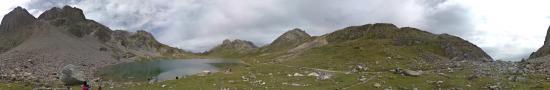 Le lac des Rond dans les Rochilles � 2452 m