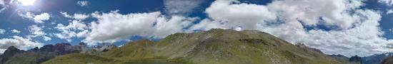Le lac de la Ponsonni�re � 2566 m