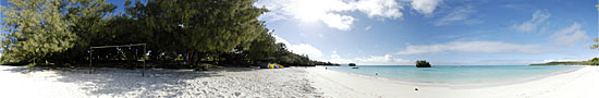 Beach of Luengoni, the most beautiful beach of Lifou