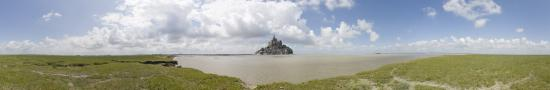 View on Mont Saint Michel