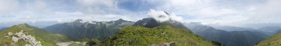 Au sommet du Petit Charnier - 2181 m