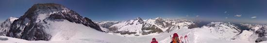 Au sommet de la Pointe Marie � 3321 m