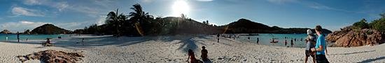 Sur la plage de Redang