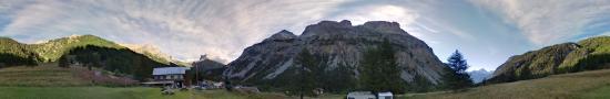 Au refuge Terzo alpini de la val�e Etroite
