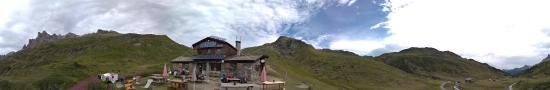 The Dray�res refuge at 2175 m