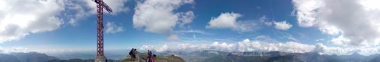 Au sommet du Grand Som � 2026 m