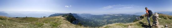 Au sommet du Granier