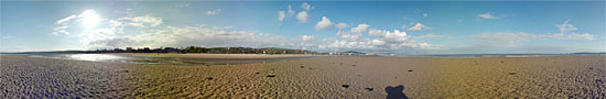 The big beach of Swansea