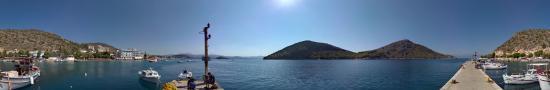 Tolo harbor in the gulf of Argolide